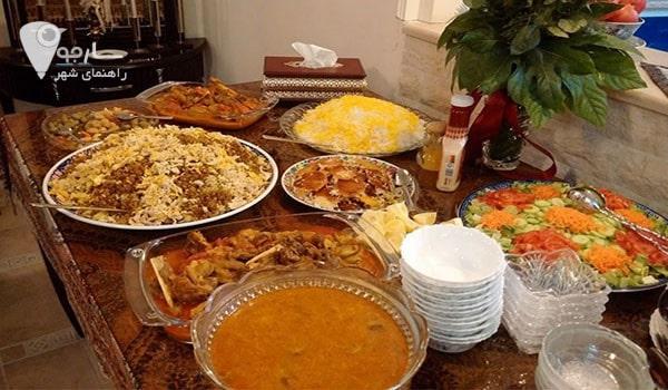 رستوران شام ایرانی شیراز