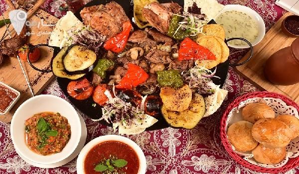 منو رستوران هفت خوان شیراز رستوران سنتی پات شیراز رستوران لبنانی طباخ شیراز