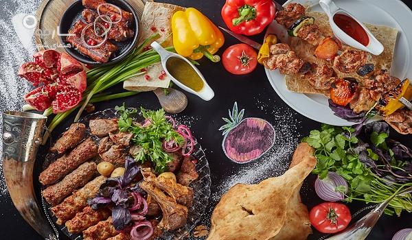 رستوران هفت خوان شیراز قیمت منو رستوران هفت خوان شیراز لیست غذای رستوران هفت خوان شیراز قیمت بوفه صبحانه رستوران هفت خوان شیراز