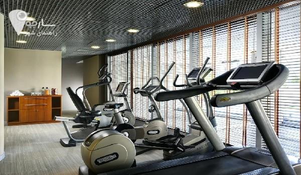 دستگاه تردمیل و دوچرخه و اسکی فضایی در تمام باشگاه ها وجود دارد.