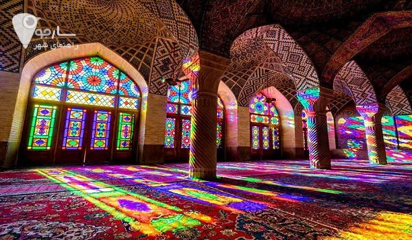 معرفی مسجد نصیرالملک برای کاربران عزیز سایت - جاهای دیدنی شیراز در عید
