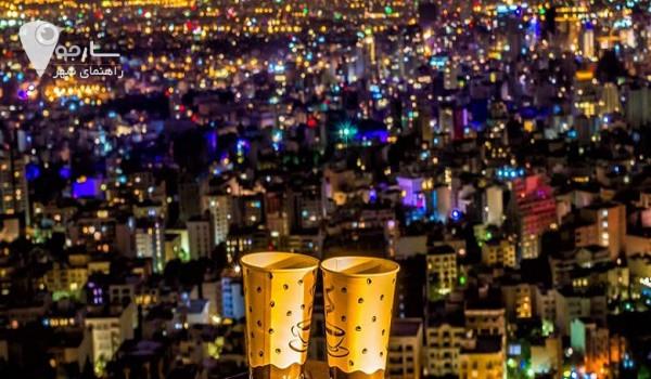 در شیراز به کجاها بریم شبگردی در شیراز  مکانهای دیدنی شیراز در شب
