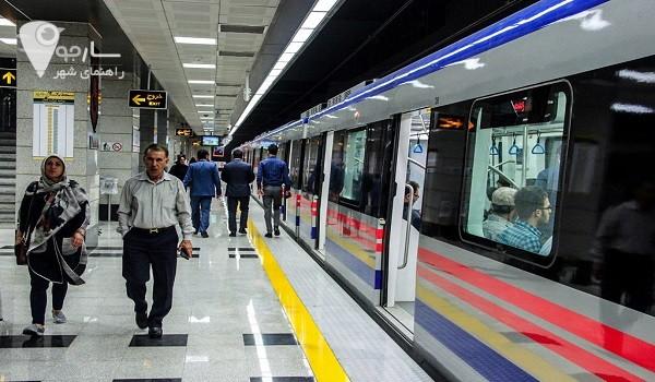 توضیحاتی در مورد ساعات حرکت مترو شیراز در روز های عادی و تعطیل