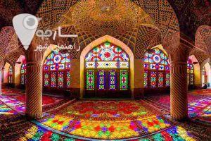 یکی از جاهای دیدنی شیراز مسجید نصیرالملک