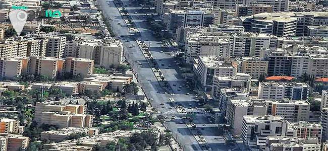 خیابان های معالی آباد شیراز معروف و پر رفت و آمد است