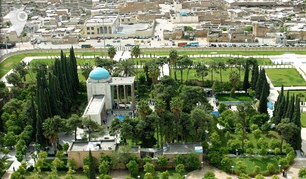 نقشه شیراز نقشه شهر شیرازنقشه آنلاین شیراز