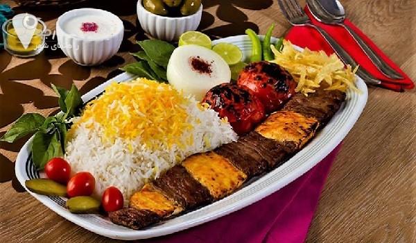 سفره خانه های شیراز | نمونه غذا های سفره خانه های شیراز