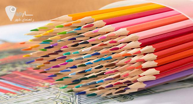 بسته بندی مدادرنگی از جمله انواع کار در منزل شیراز است