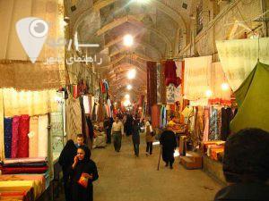 بازاروکیل-یکی از جاهای شلوغ و دیدنی در عید