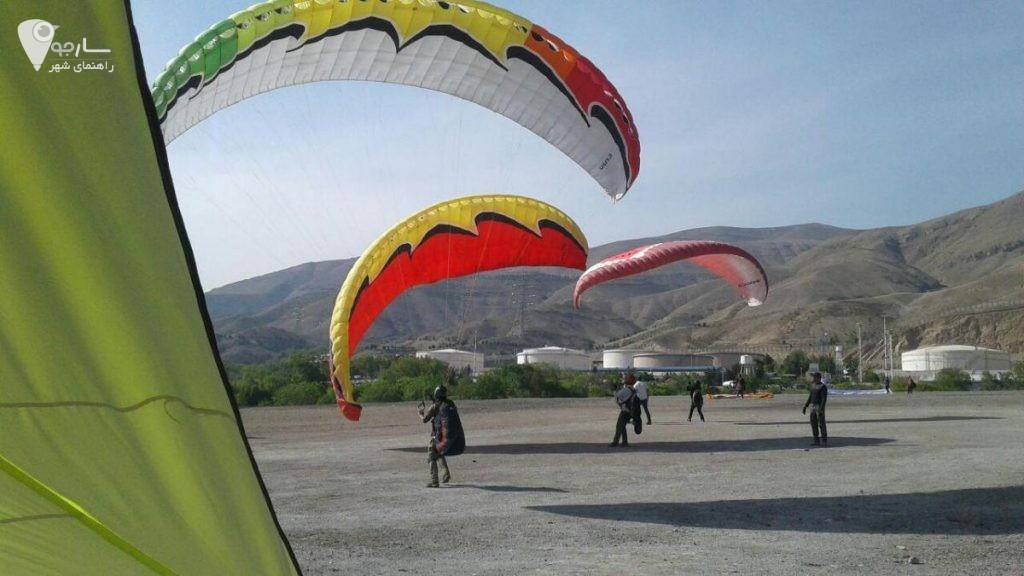 آموزش چتربازی شیراز