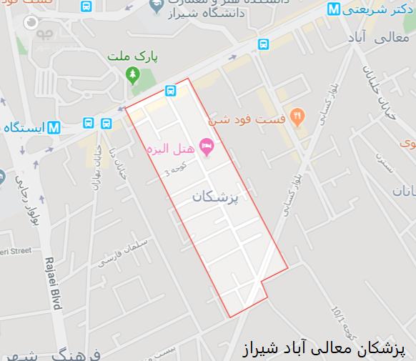 پزشکان معالی آباد شیراز