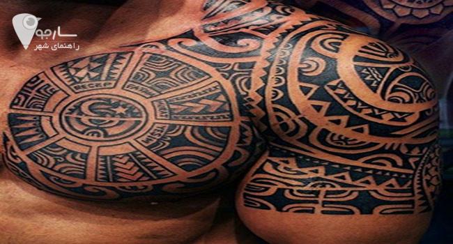 تاتو در قدیم مخصوص فرهنگ و قبیله خاصی بوده است.