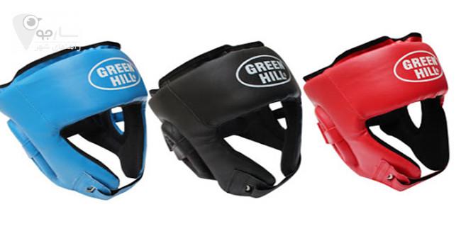 کلاه محافظ بوکس در دو مدل متفاوت عرضه می گردد جهت حفظ سلامت ورشکاران باید استفاده شود.
