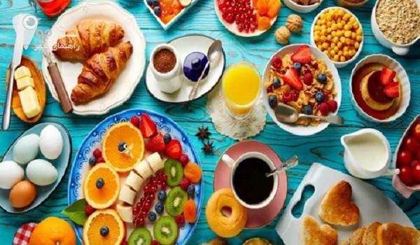 صبحانه عفیف آباد شیراز