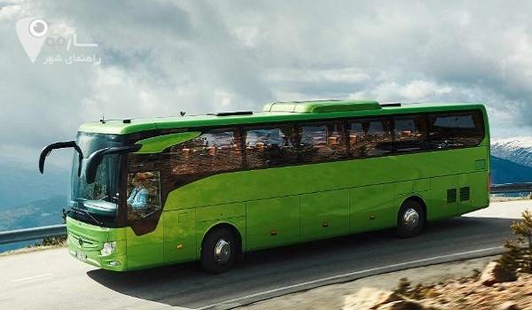 نمایشگاه اتوبوس در شیراز
