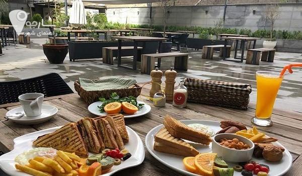 کافه های بلوار ستارخان شیراز