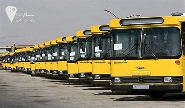 خط واحد شیراز | ساعت کار اتوبوسرانی شیراز