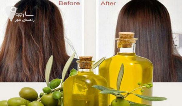 درمان ریزش مو با روغن زیتون بسیار تاثیر گذار و راحت میباشد.