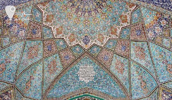 کاشی کاری در شیراز
