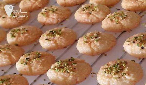 شیرینی نارگیلی خانگی مناسب تمام ایام سال است . شیرینی خانگی رفسنجان نیز گزینه مناسبی است.