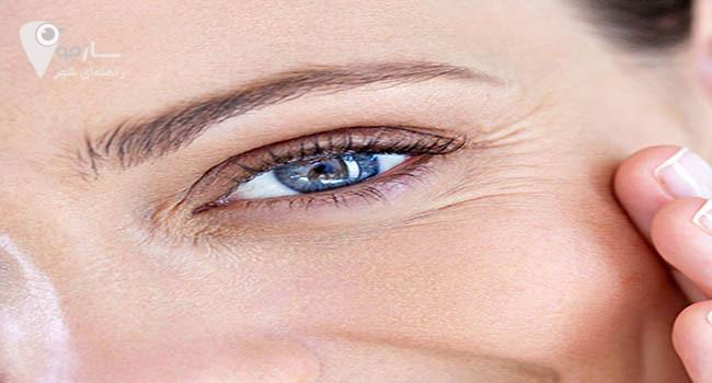 خواص روغن کنجد برای پوست دور چشم