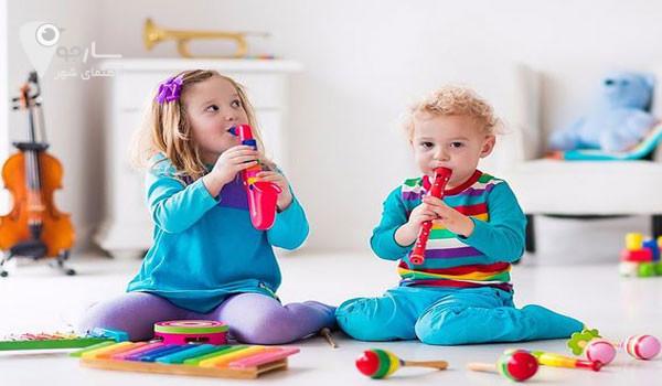 تاثیرات موسیقی بر کودکان بسیار در شخصیت و رفتار انها در اینده اثر میگذارد.