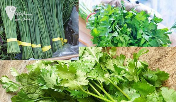 سبزی مارکت در شیراز