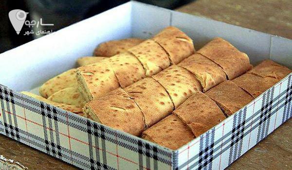 طرز تهیه نان یوخه شیرازی