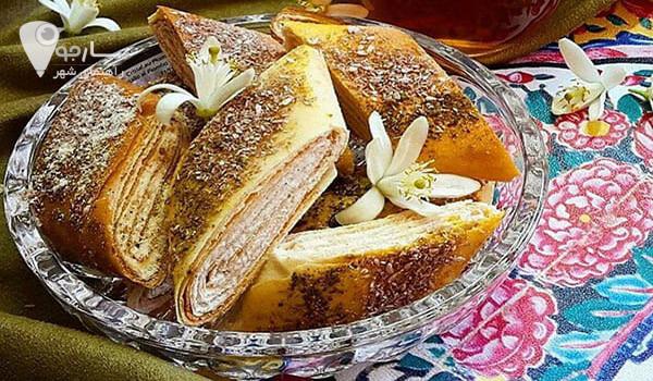 تهیه نان یوخه شیرازی