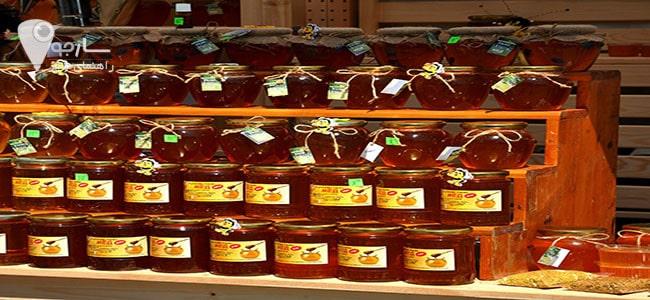 فروش عسل بصورت های گوناگون مرسوم شده است