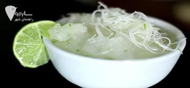 فالوده شیرای را در بهترین آبمیوه و بستنی فروشی شیراز پیدا کنید