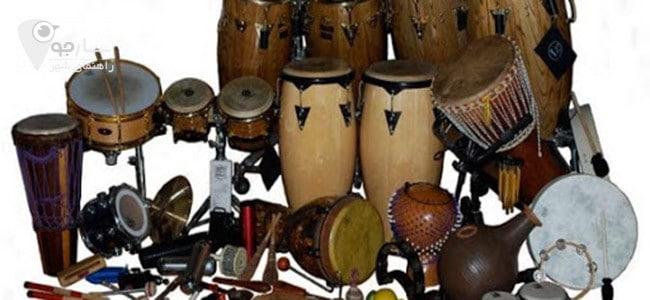 آلات موسیقی بسیار متنوع و گسترده است