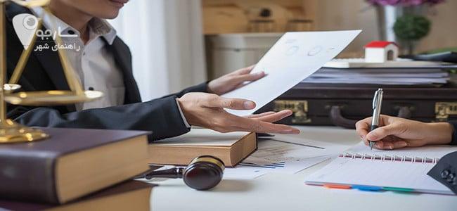 در دفاتر وکالت در شیراز مورد وکالت تعیین و به دقت بررسی میگردد