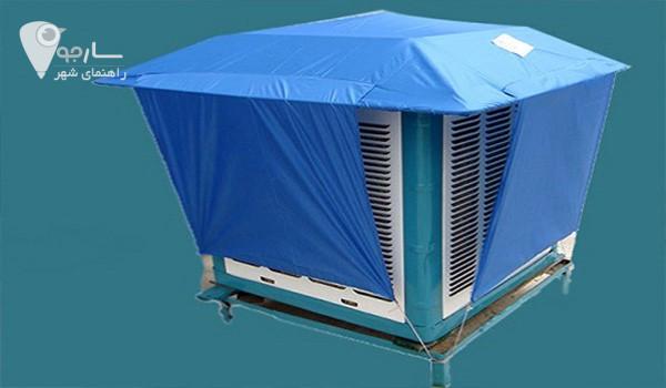 استفاده از سایه بان باعث افزایش عمر کولر آبی می شود.