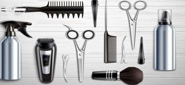 تجهیزات آموزش مدل مو چتری را قبل از شروع کار آماده کنید.