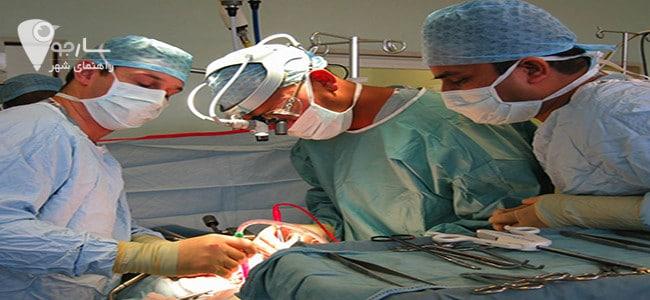 جراحی برداشتن بیضه در شیراز