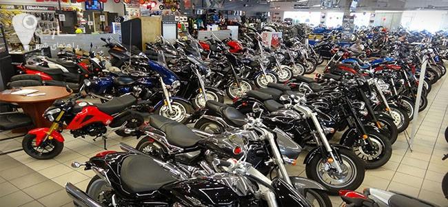 فروشگاه موتور سیکلت شیراز