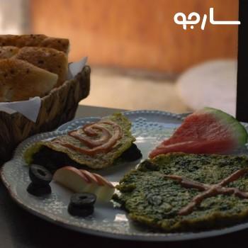 املت اسفناج(منوی صبحانه)