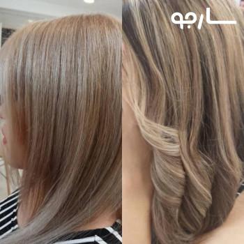 رنگ و مش، هایلات و انواع رنگ مو