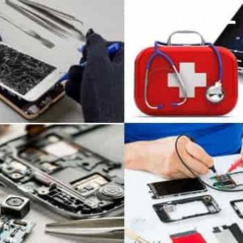 تعمیرات انواع گوشی موبایل (سخت افزار و نرم افزار)