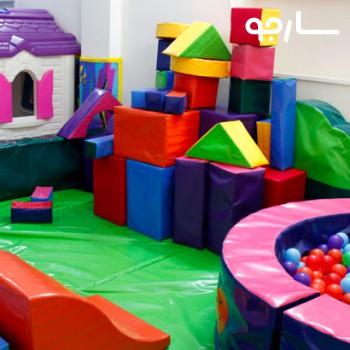 خانه بازی کودک آبنبات چوبی شیراز