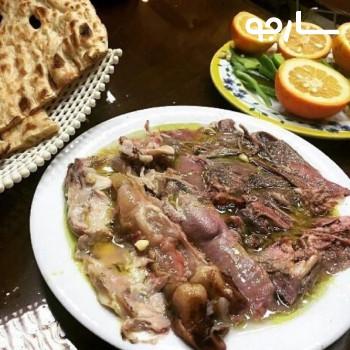 کله پزی بره نمکی شیراز